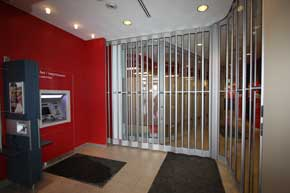 Royal sliding door bank
